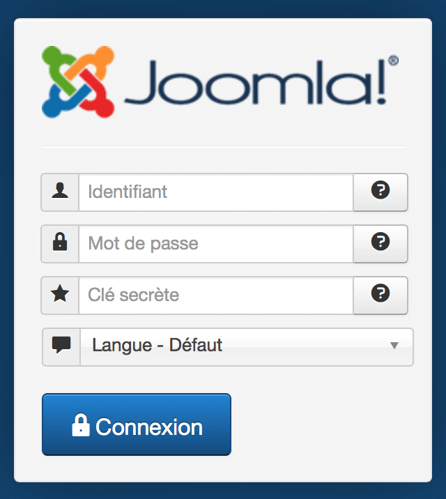 Joomla! & Google Authenticator | Authentification en deux étapes